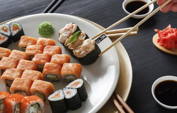 Velky sushi set